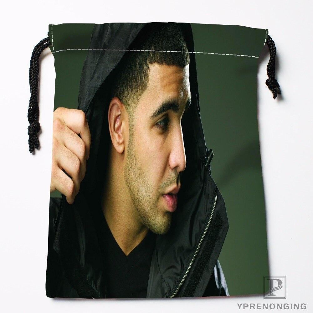 Custom Drake Drawstring Bags Travel Storage Mini Pouch Swim Hiking Toy Bag Size 18x22cm#0412-03-16