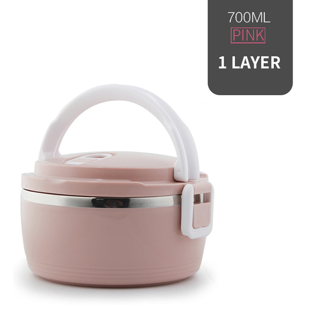 1 Layer Pink Cheap bento boxes 5c6479e2ef006
