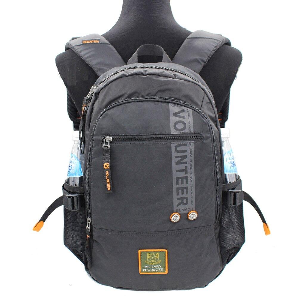 2017 Men Military Backpack Waterproof Oxford Travel Mountaineering Bag Laptop Rucksack School Bags High Quality Male Knapsack-in Backpacks from Luggage & Bags    1