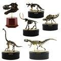 Starz esqueleto Animal fósil montaje ABS juguetes de dinosaurios modelo Kits de construcción colección Jurassi parque parts T-rex cráneo