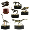 Strass esqueleto de Animal fóssil ABS de dinossauro montagem brinquedos modelo de construção Kits coleção Jurassi parque T - rex crânio