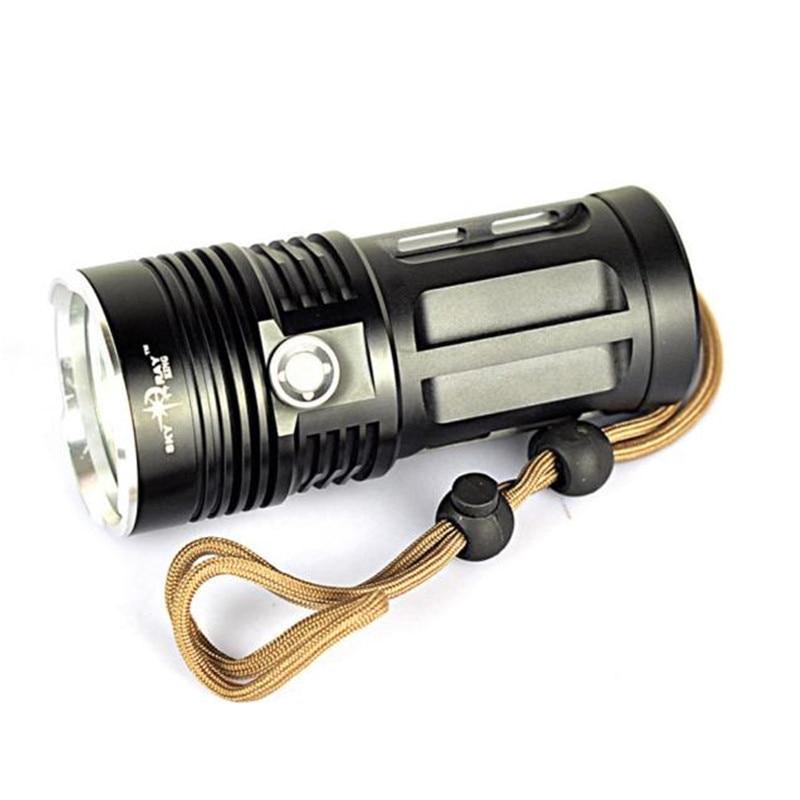 Bicycle Light High power 9000 LM 7T6 7x Light XM-L T6 LED Flashlight Torch Lamp 3 Modes Camping & Hiking Wholesale&retail 3800 lumens cree xm l t6 5 modes led tactical flashlight torch waterproof lamp torch hunting flash light lantern for camping z93