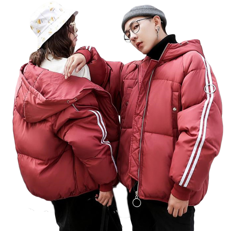 Big Size 3XL Women Winter Down Cotton Jackets Warm Bread Coats Loose Oversize Wadded Jacket 2018 Female Thick Parka Lovers CM872