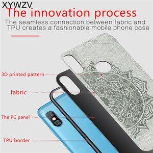 Image 3 - Xiaomi Redmi 6 Pro Shockproof Soft TPU Silicone Cloth Texture Hard PC Phone Case For Xiaomi Redmi 6 Pro Back Cover Redmi 6 Pro
