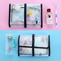 Foldable Hanging Travel Cosmetic Bag Organizer Toiletry Makeup Bag Wash Make Up Bag Waterproof Bolsa Neceser Maquillaje Case