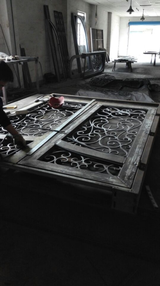 Hench 100% Steels Metal Iron  Insualted Front Doors For Homes