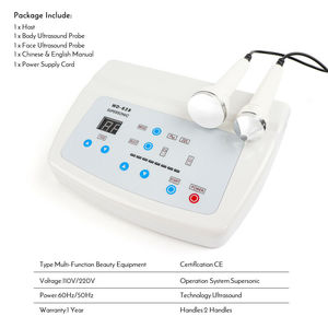 Image 2 - Pro 1Mhz 3MHz Ultrasonic Facial Machine Anti Aging Skin Lifting Salon Spa Beauty  Skin Care machine With Eliminate freckles
