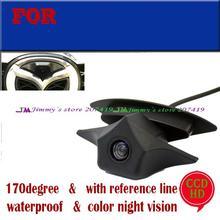 CCD Car auto Vehículo vista Frontal del emblema del Logotipo de La Cámara para Mazda logo Marca cámara de visión Nocturna