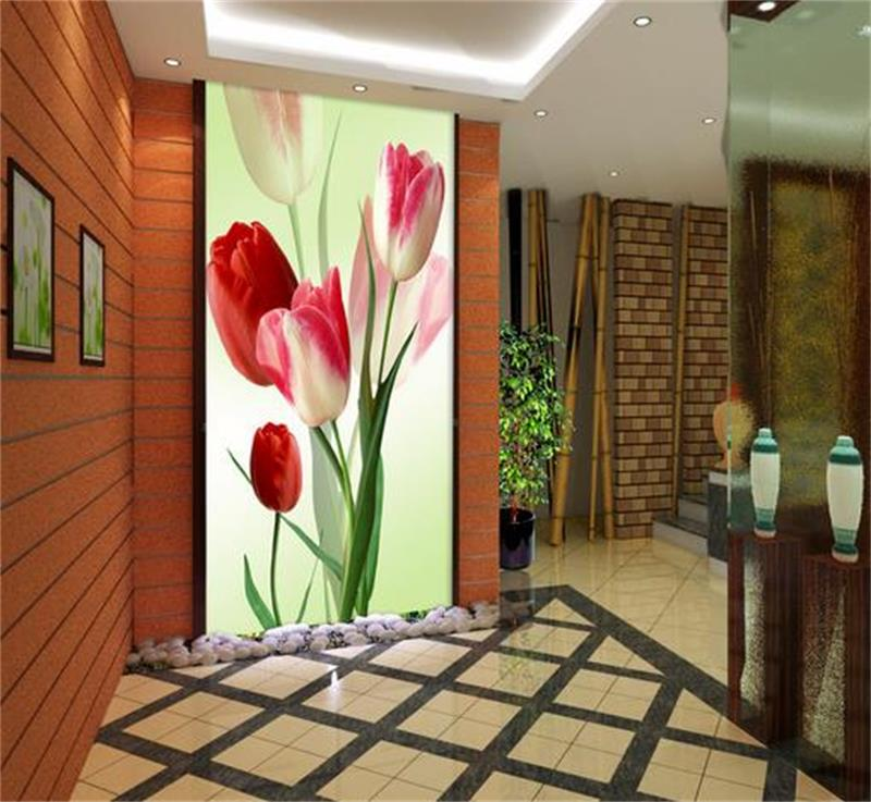 3d wallpaper photo wallpaper custom mural living room porch tulip flowers 3d painting TV background wall wallpaper for walls 3d vintage beautiful mahogany living room large mural wallpaper living room bedroom wallpaper painting tv background wall wallpaper