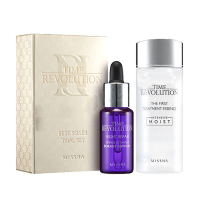 MISSHA Time Revolution Set ( The First Treatment Essence 30ml + Night Repair Borabit Ampoule 10ml ) Skin Care Intensive Moist