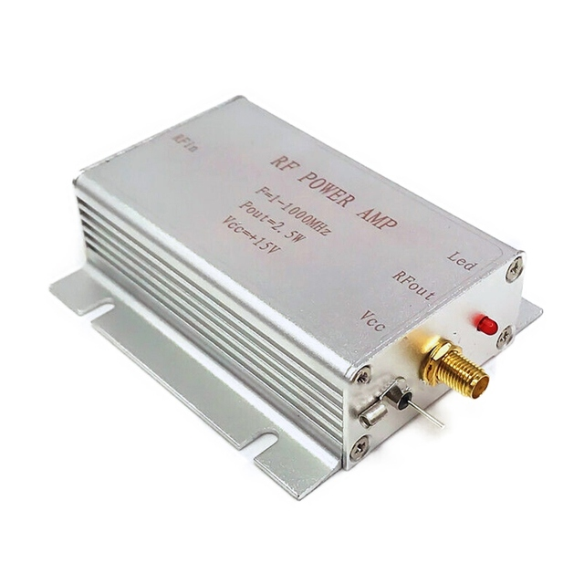 1-1000MHz 2.5W HF VHF UHF FM Transmitter RF Power Amplifier Practical Durable AMP For Ham Radio 1