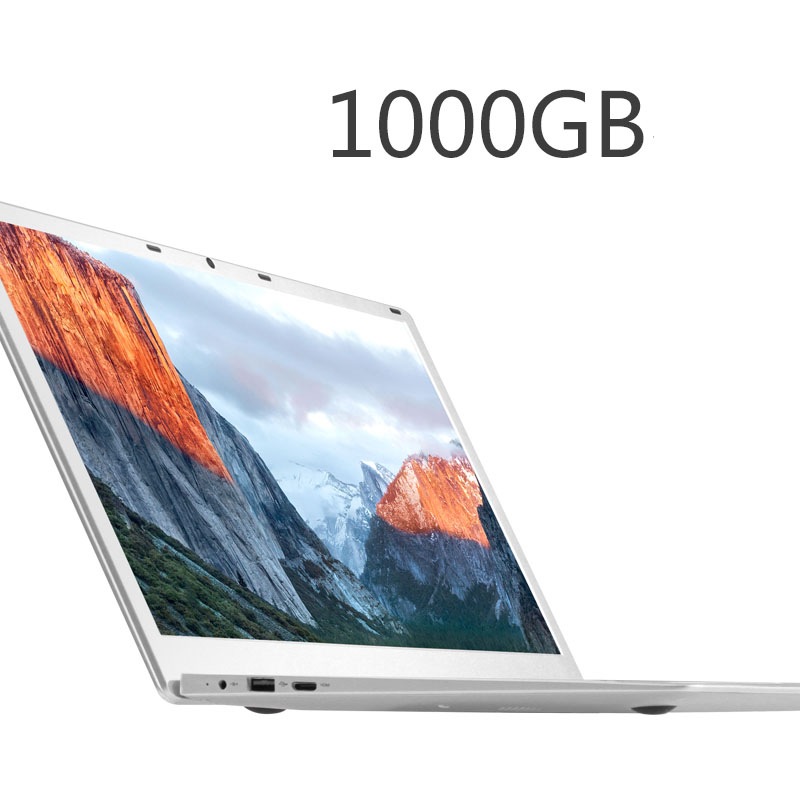 2018 новый 15,6 дюймов игровой ноутбук 6 ГБ DDR3 Оперативная память 64 ГБ EMMC (1 ТБ HDD) apollo Lake N3450 4 ядра 1920X1080 HD Экран Win 10 TF карты