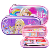 1 X Nice Feet Eva Pencil Case Multifunctional Curtain Pencil Box Elementary Student School Stationery Supplies