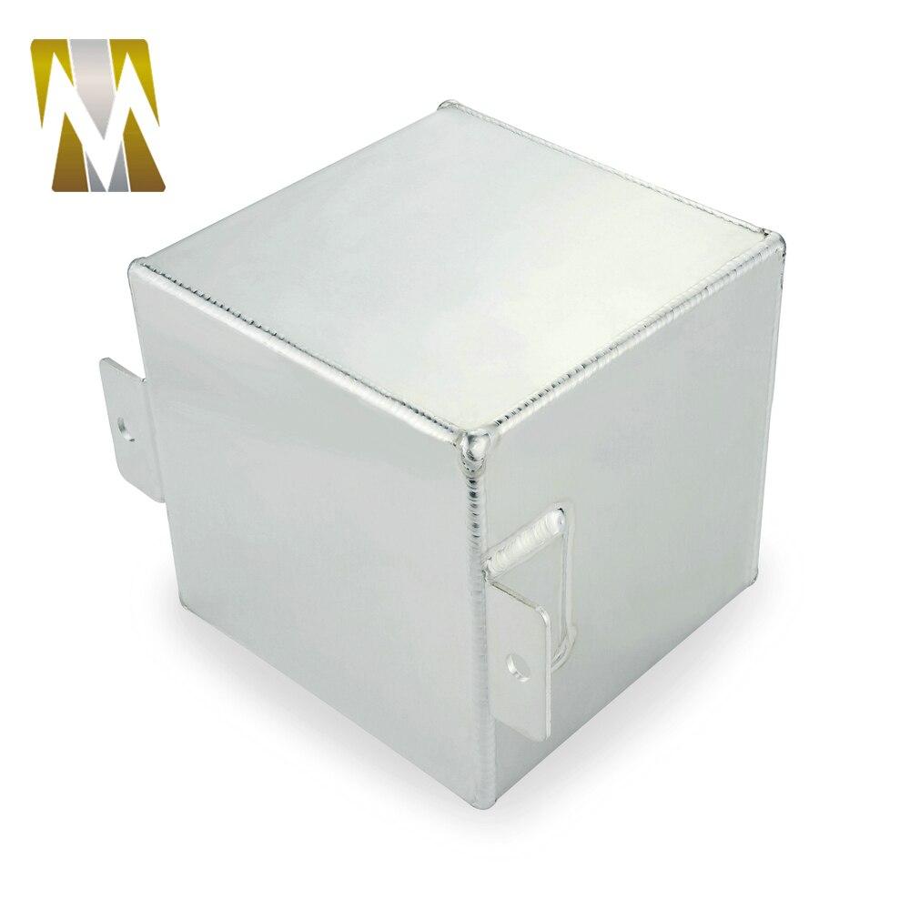 Le réservoir d'alimentation universel de réservoir de montée subite de carburant d'huile en aluminium de billette de l'argent 2L de haute performance AN6 a besoin d'une installation professionnelle - 6