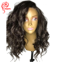 Hesperis 150% Density Loose Wave Lace Front Human Hair Wigs With Baby Hair Peruvian Hair Remy Lace Front Wigs Pre Plucked