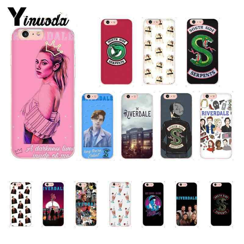 Yinuoda power Riverdale proud Coque Shell Phone Case for iPhone 8 7 6 6S Plus X XS MAX 5 5S SE XR 10 Cover