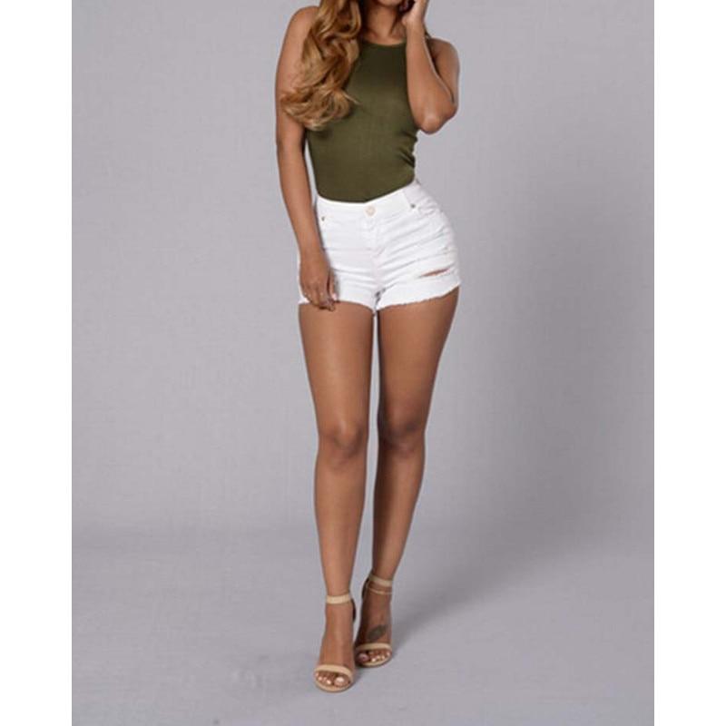 Popular White Jean Short-Buy Cheap White Jean Short lots from