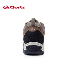 New Clorts Men Hiking Shoes Nubuck Climbing Shoes Waterproof Outdoor Trekking Shoes Genuine Leather Mountain Shoes HKL-805A