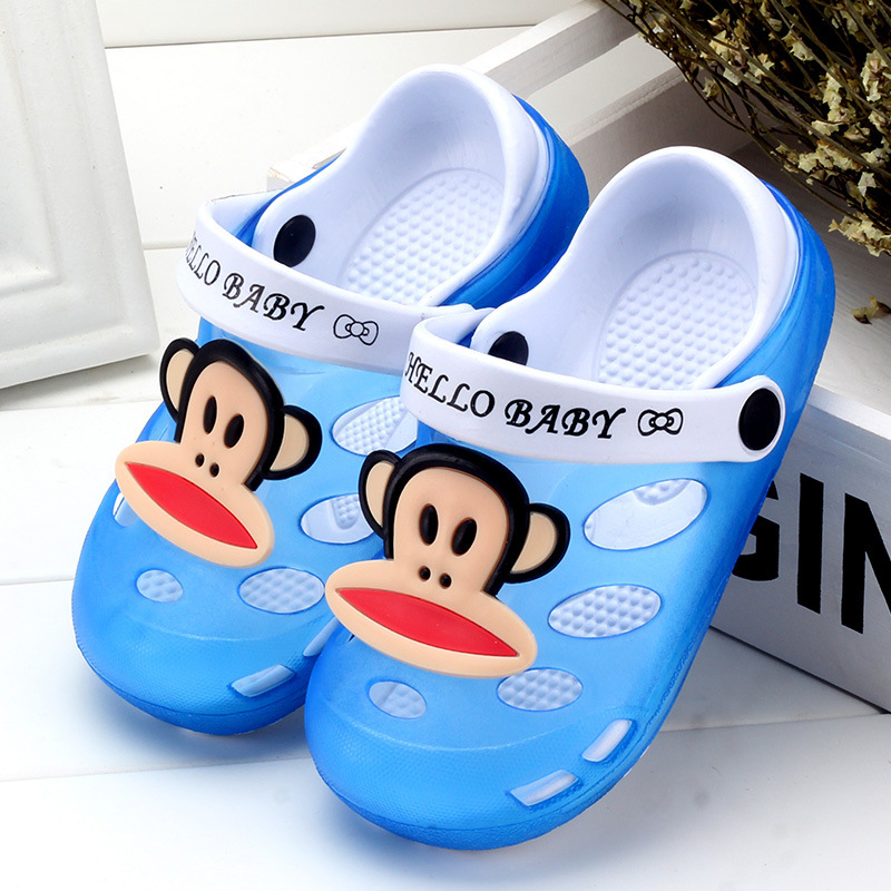 e2e93d231cd Cartoon cute cat boys girls kids slippers for child caterpillar anti slip EVA  slipper shoes baby sandal sapato infantil menina-in Sandals from Mother    Kids ...