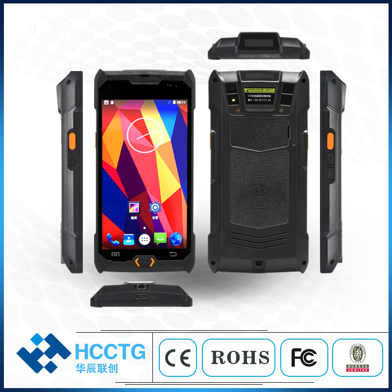 Android Pda Handheld 5 Inch Touch Screen Nfc Card IP67 Mobiele Pos Terminal Logistieke Pda Met Android 1D 2D Barcode scanner C50-in Scanners van Computer & Kantoor op title=