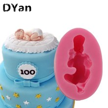 hot deal buy new food-grade silicone mold 3d baby,fondant cake decorating tools,silicone soap mold,silicone cake mold