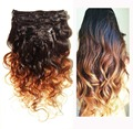 Clip In Human Hair Extensions 7A Brazilian Human Hair Clips 9PCS 120g Brazilian Body Wave Human Hair Clip in Extension