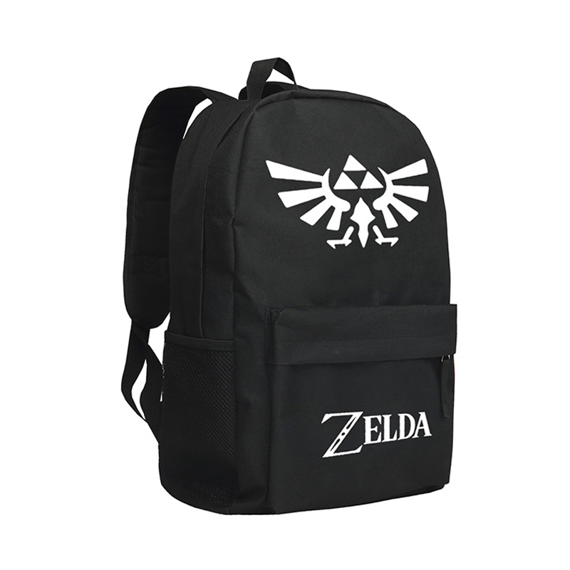 The Legend of Zelda Backpack Boys School Bag The Hyrule Fantasy Bookbag Children anime the legend of zelda backpack bag school bag shoulder bag cosplay bag a style