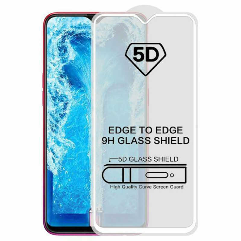 5D Tempered Glass OPPO F9 Full Coverage Screen Protector Protective Film  OPPO F9 Pro Full Glue Full Adhesive
