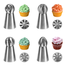 VOGVIGO Russian Piping Nozzle Sphere Ball Icing Confectionary Pastry Tips Sugar Craft Cupcake Decorator Kitchen Bakeware Tools