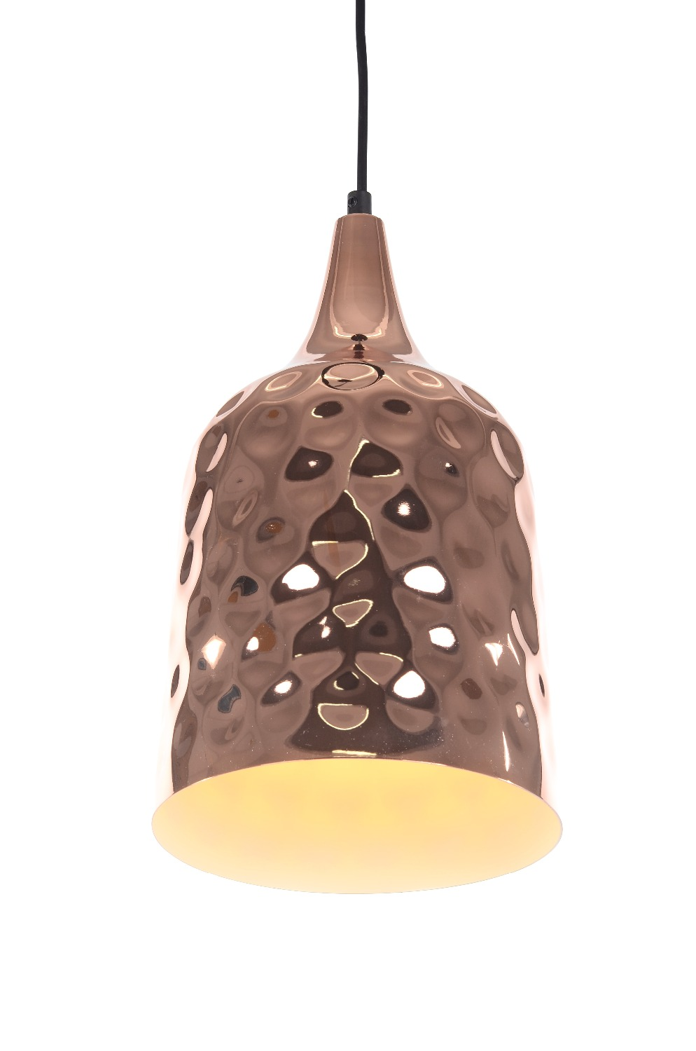 ФОТО free shipping 60049S Modern North European style scale shape electroplated copper color pendant light pendant lamp