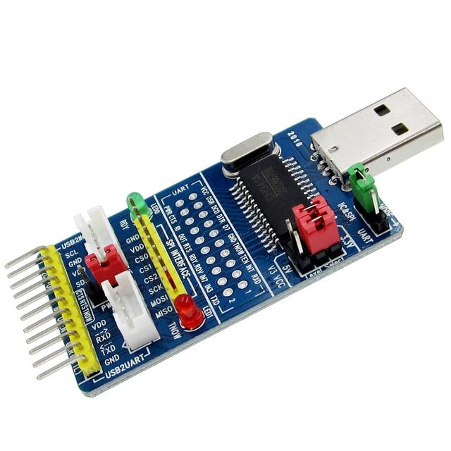 CH341A USB לspi I2C IIC UART TTL ISP הסידורי מתאם מודול EPP/MEM ממיר עבור מברשת סידורי ניפוי RS232 RS485