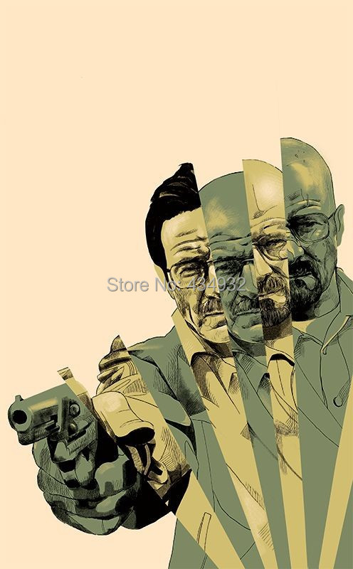Min.order is 10 (mix order )Exclusive selling Breaking bad 07 Waterproof Personalized laptop stickers Box stickers[Single]