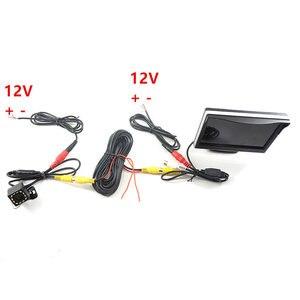 Image 5 - Gspscn駐車場支援 5 インチリアビューモニター車反転バックミラーバックアップカメラled赤外線ゴムカップ + ブラケット