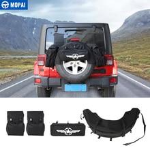 MOPAI заднего запасное колесо сумка для хранения Tool Kit Грузовой Организатор сумки Чемодан сума для Jeep Wrangler JK TJ JLAccessories