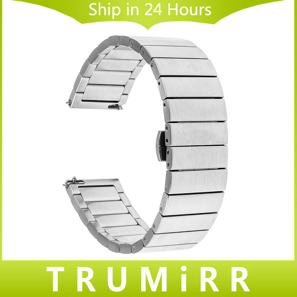 Quick Release Stainless Steel Watchband 16mm 18mm 20mm 22mm for Rado Men Women Watch Band Butterfly Buckle Strap Wrist Bracelet quick release stainless steel watchband 16mm 18mm 20mm 22mm universal band butterfly buckle bracelet replacement strap 4 colors