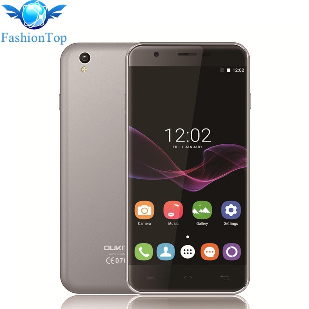 bilder für Oukitel U7 Max 5,5 ''Handy Android 6.0 MTK6580A Quad Core 1G RAM + 8G ROM Smartphone 8MP Kamera 2500 mAh 3G WCDMA handy