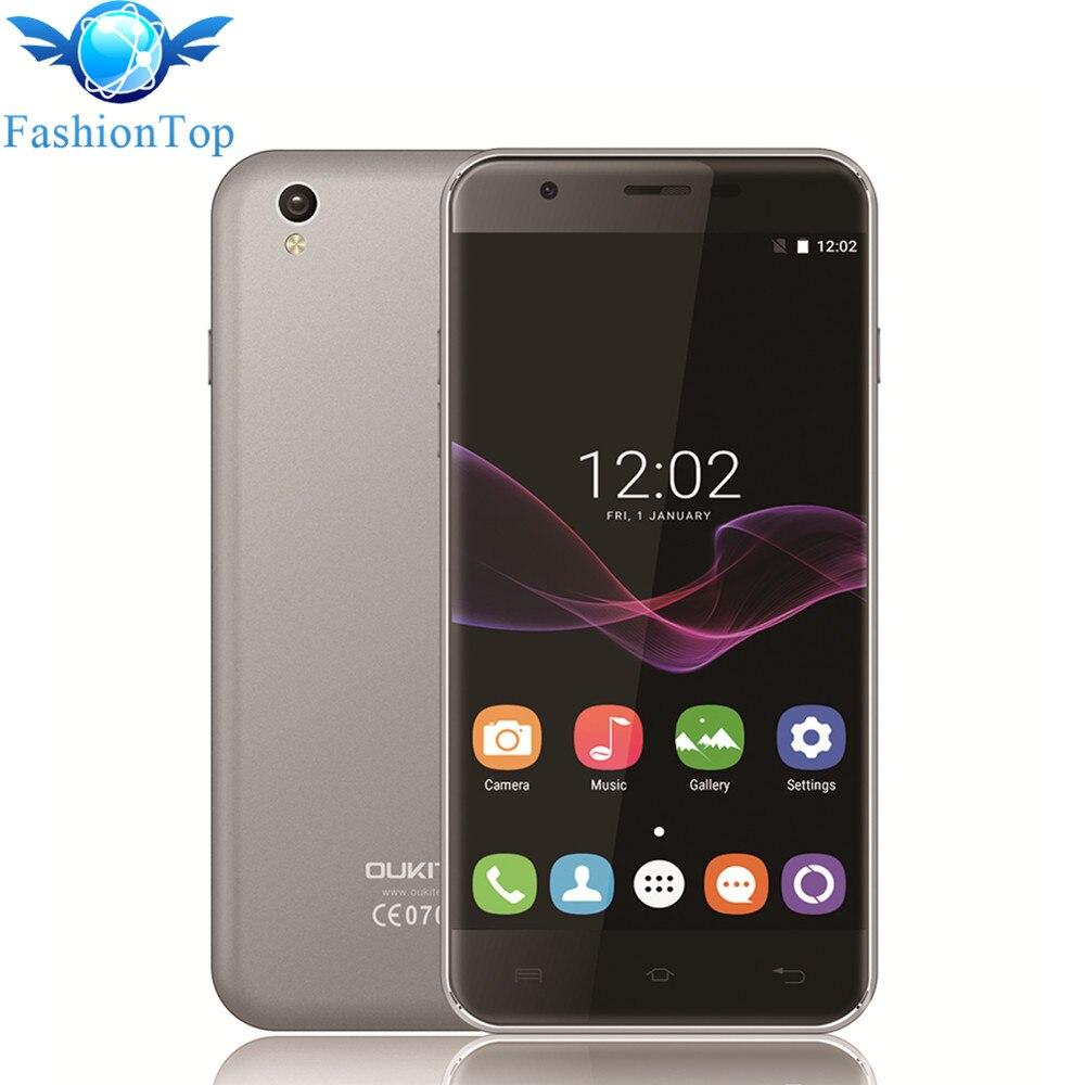 Oukitel U7 Max 5.5 ''Teléfono Móvil del Androide 6.0 MTK6580A Quad Core 1G RAM +