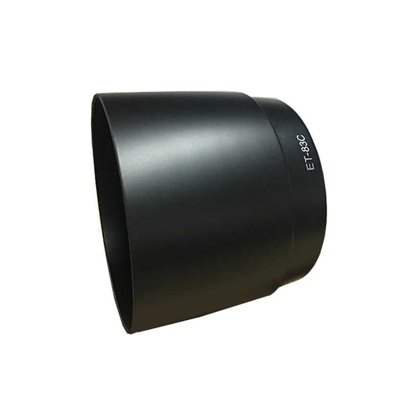 Nowy 10 sztuk do montażu na ścianie z tworzywa sztucznego osłona obiektywu do Canon ET-83C ET83C dla Canon EF 100-400mm f/ 4.5-5.6L IS USM wholse sprzedaż darmowa wysyłka