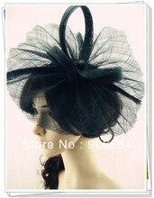Envío libre 9 color disponible de sinamay sombreros del fascinator, buenos sombreros nupciales de la boda, sombrero del coctel, Muy bonito, MSF205