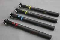 Bicycle Seat Post 3K Matte Full Carbon Fibre Mountain Road Bike Seatpost Bicycle Parts 27.2/30.8/31.6*350/400mm