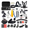 For Gopro Accessories Hand Monopod With Case Bag For Xiaomi Yi Action Camera Accessories For SJCAM Sj4000 Sj5000 Sj6000 Sj7000