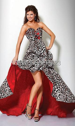 Online Buy Wholesale leopard print prom dresses from China leopard ...