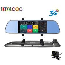 """Dealcoo Neue 7 """"spezielle 3G Auto DVR Kamera Spiegel Android 5.0 mit GPS Automobil DVRs Dash Cam spiegel Video Recorder Bluetooth"""