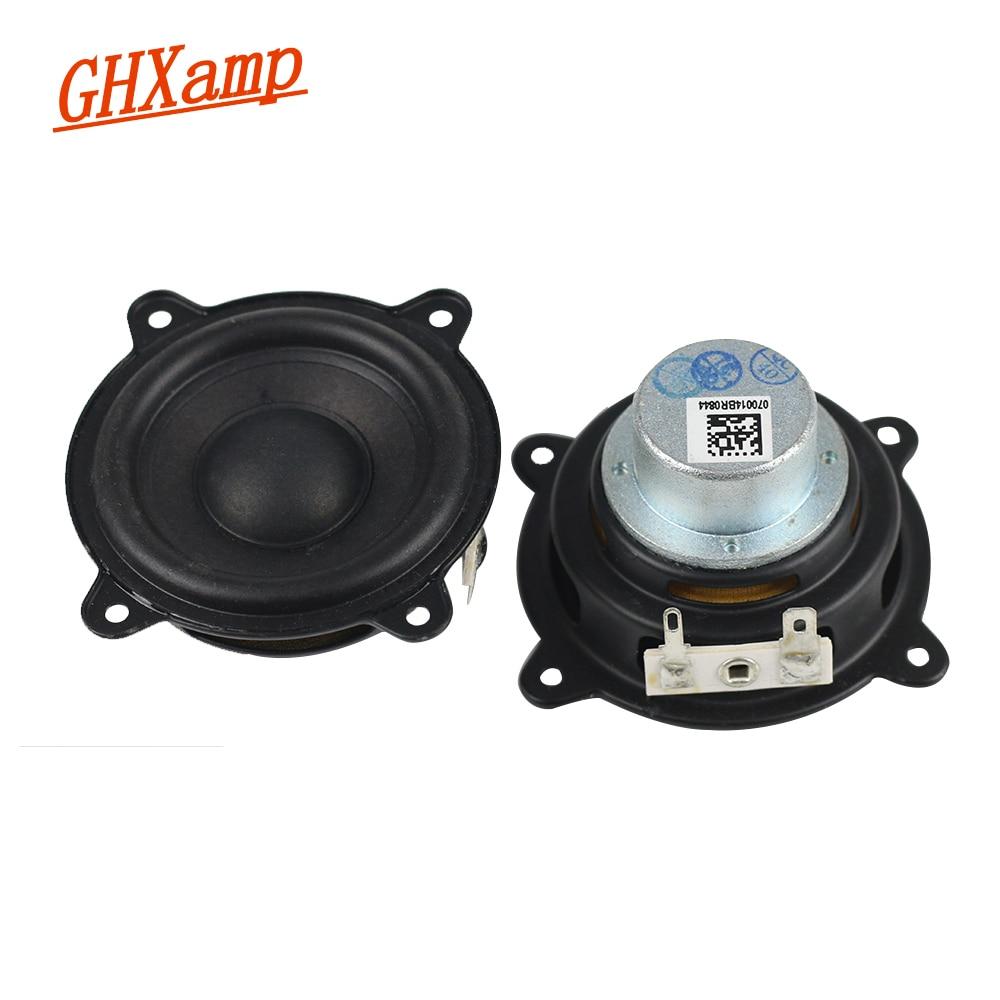 GHXAMP 2.5 INCH 15W For Pill XL Speaker Woofer Full Range Neodymium Portable Speaker Car CD Amplifier Speaker Buletooth h 019 fountek fr88ex full range 3 inch hifi speaker amplifier speaker hot sale 84 3db 1w 1m