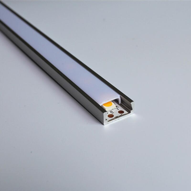 0,5 Mt/teile 5-20 Teile/los Led Aluminium Ts05 Led Alu Profil Neue Sorten Werden Nacheinander Vorgestellt