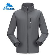 Leisure Sport Windstopper Breathable Softshell Hiking Outdoor Jacket Men Fleece Lined Jaqueta Masculino Camping Climbing Coat