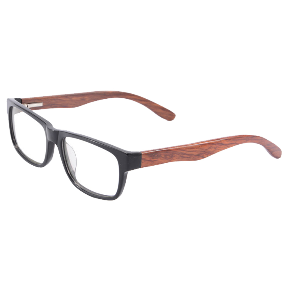 new korean retro real wood glasses frame men women plain glasses computer glasses oculos de grau