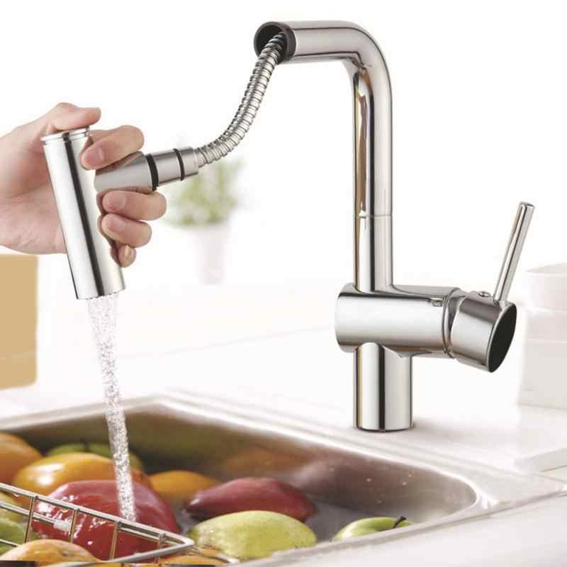 8 styles ABS Kitchen Tap Pull Out Parts Kitchen Faucet Replacement Parts  Faucet Accessorie Spouts Kitchen Faucet Nozzle