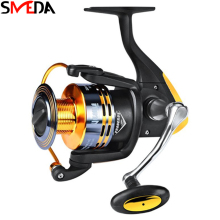 цена на 2019 Fishing Reel Spinning Reel Fishing Peche Wheel 11BB Left Right Sea Metal 5.0:1 Carp Fishing Carretilha De Pesca