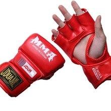 Hurricane Half Finger Gloves UFC Training MMA Sandbags Fighting Adults Boxing Gloves Sand/Karate/Muay Thai/Taekwondo Protector